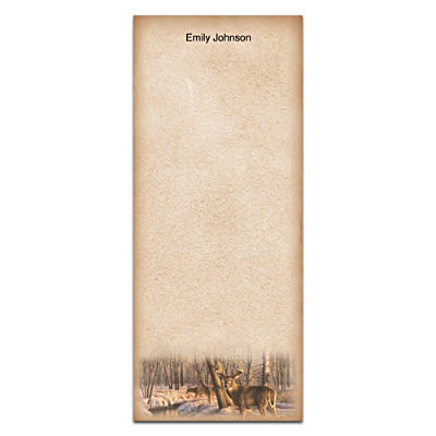 Winter Calm List Note Pads