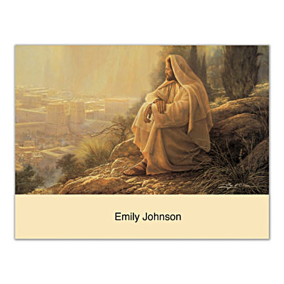 Jesus, Light Of The World Folded Note Cards