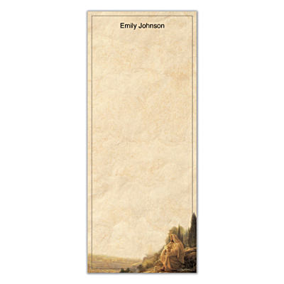 Jesus, Light Of The World List Note Pads