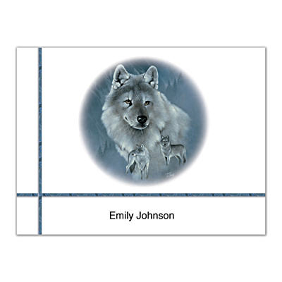 Spirit Of The Wilderness Folded Note Cards