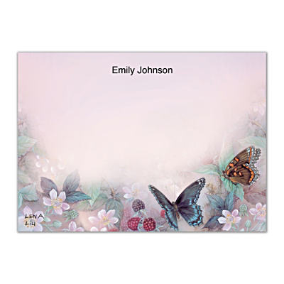 Lena Liu's Enchanted Wings Flat Note Cards