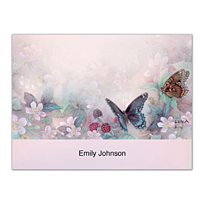 Lena Liu's Enchanted Wings Folded Note Cards