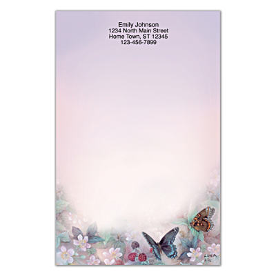 Lena Liu's Enchanted Wings Large Note Pads