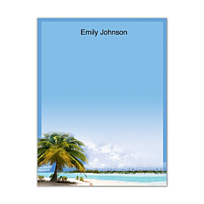 Tropical Paradise Small Note Pads