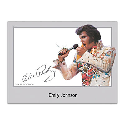 Remembering Elvis Folded Note Cards