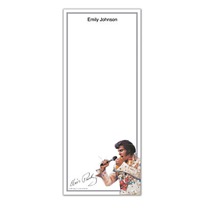 Remembering Elvis List Note Pads