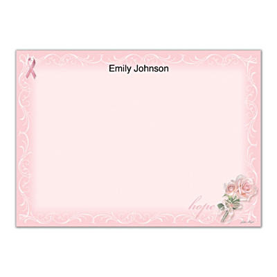Hope Springs Eternal Flat Note Cards