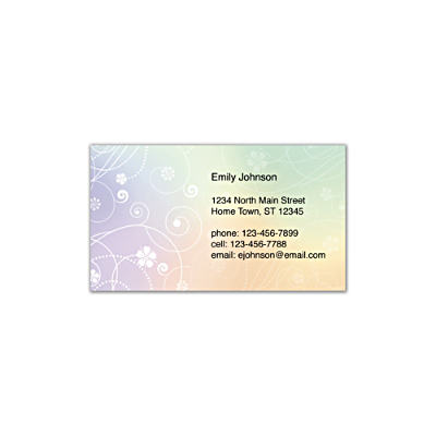 Reflections Social Calling Cards