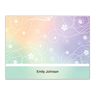 Reflections Folded Note Cards