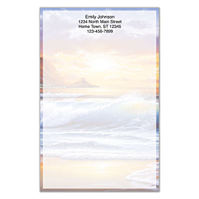 Hawaiian Sunsets Large Note Pads