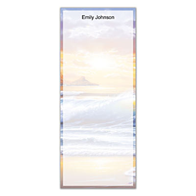 Hawaiian Sunsets List Note Pads