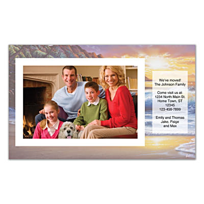 Hawaiian Sunsets Photo Insert Cards