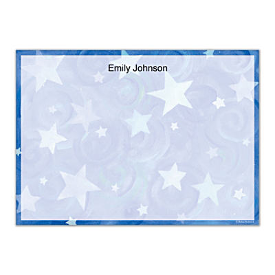 Shining Stars Flat Note Cards