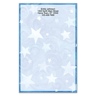 Shining Stars Large Note Pads