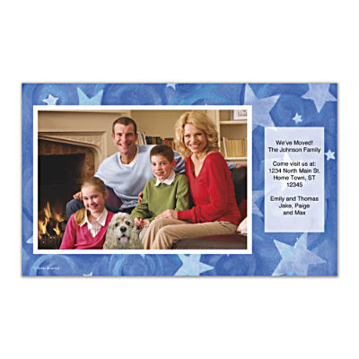 Shining Stars Photo Insert Cards