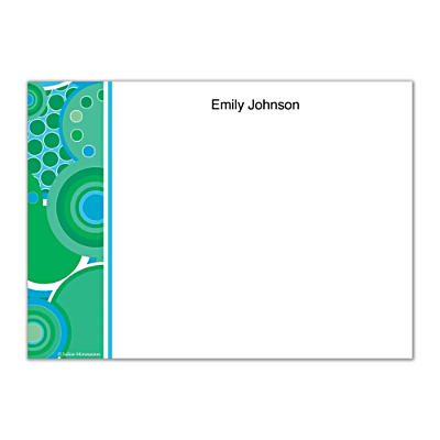 Kaleidoscope Flat Note Cards