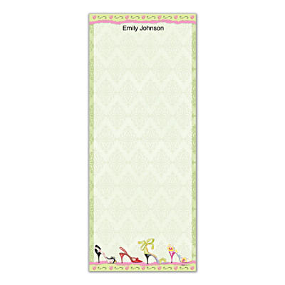 Stepping Out List Note Pads