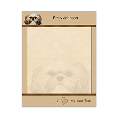 Faithful Friends - Shih Tzu Small Note Pads