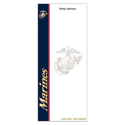 U.S. Marines List Note Pads