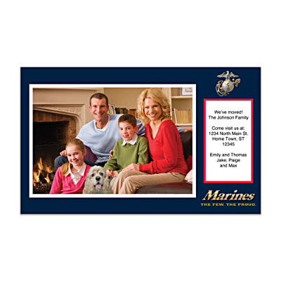 U.S. Marines Photo Insert Cards