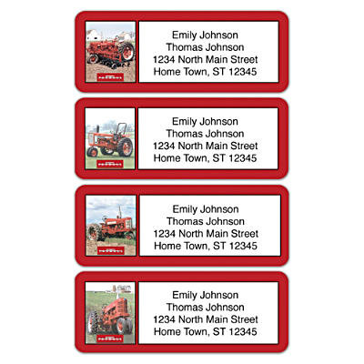 Farmall Address Labels