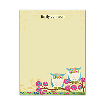 Challis & Roos Awesome Owls Small Note Pads