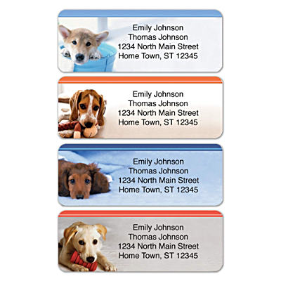 Rescued Is My Breed Of Choice Address Labels