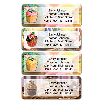 Cupcake Craze Address Labels