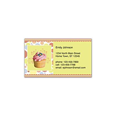 Cupcake Craze Social Calling Cards