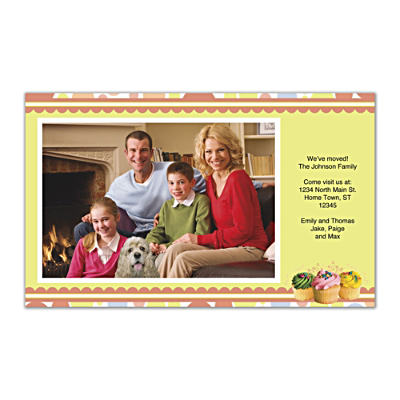 Cupcake Craze Photo Insert Cards