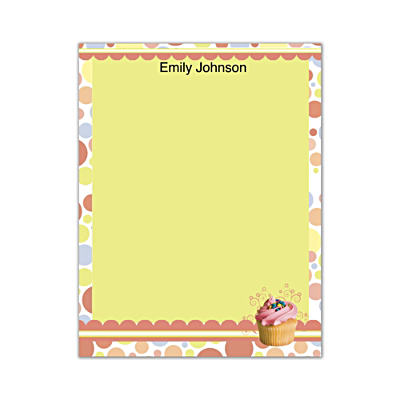 Cupcake Craze Small Note Pads
