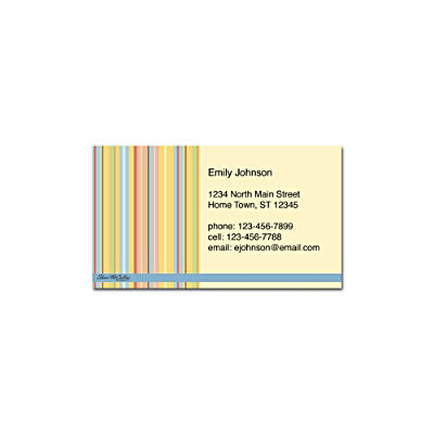 Stripes Social Calling Cards