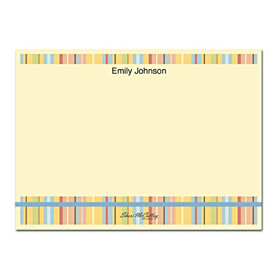 Stripes Flat Note Cards