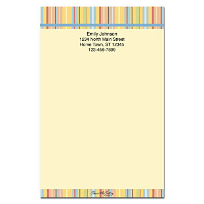 Stripes Large Note Pads