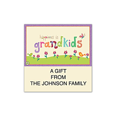 Grandkids Rule! Square Labels