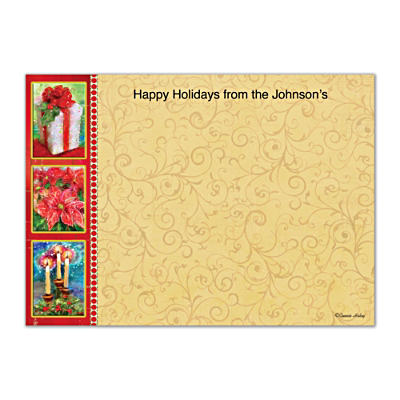 'Tis The Season Flat Note Cards