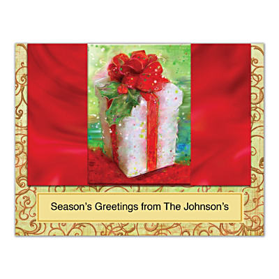 'Tis The Season Folded Note Cards