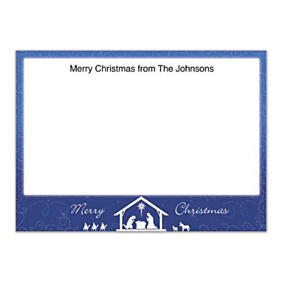 Silent Night Flat Note Cards