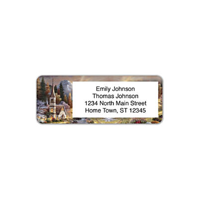 Valley Chapel Address Labels
