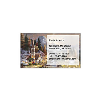 Valley Chapel Social Calling Cards