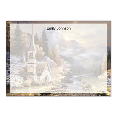 Valley Chapel Flat Note Cards