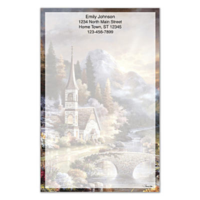 Valley Chapel Large Note Pads