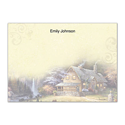 Cabin Escape Flat Note Cards