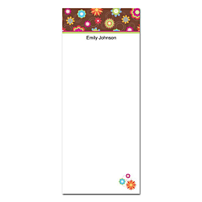 Floral Fun List Note Pads