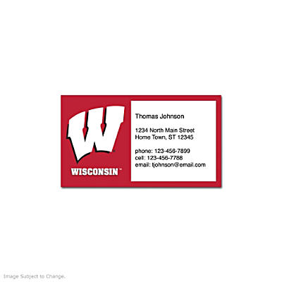 University of Wisconsin Social Calling Cards
