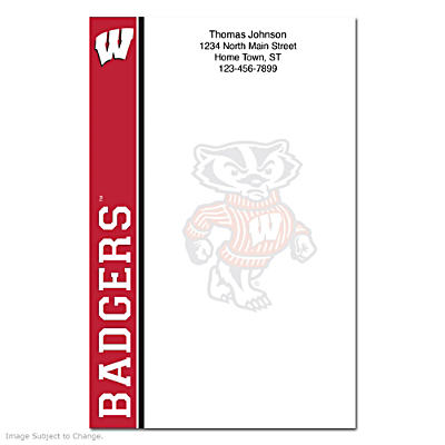 University of Wisconsin Large Note Pads