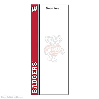 University of Wisconsin List Note Pads