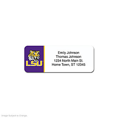 Louisiana State University Address Labels