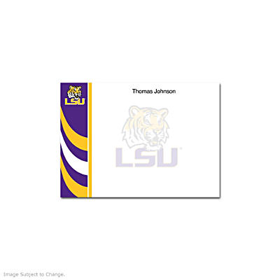 Louisiana State University Flat Note Cards