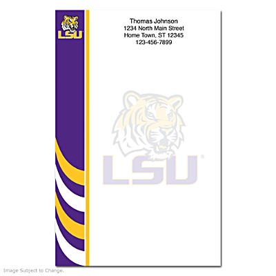 Louisiana State University Large Note Pads
